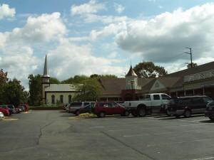 Kirche und Platz