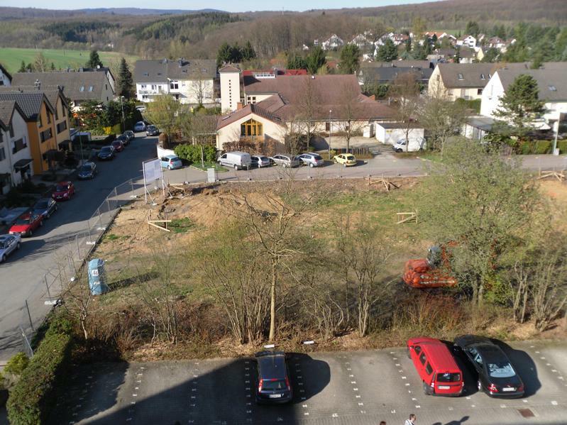 Der rechte Teil des Bokolok Baugeländes in Auringen